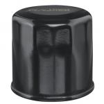 Black motorcycle filter