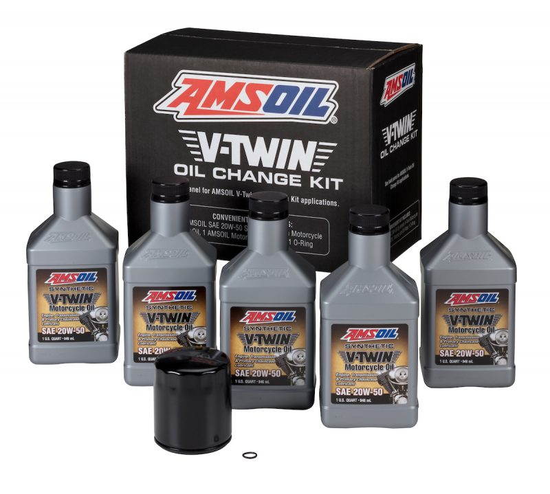 HDMB V-Twin Motorcycle Oil Change Kit
