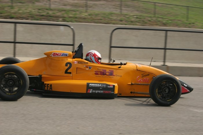Racing Car Driver Stefan Rzadzinski