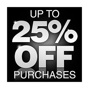 Save up to 25 percent