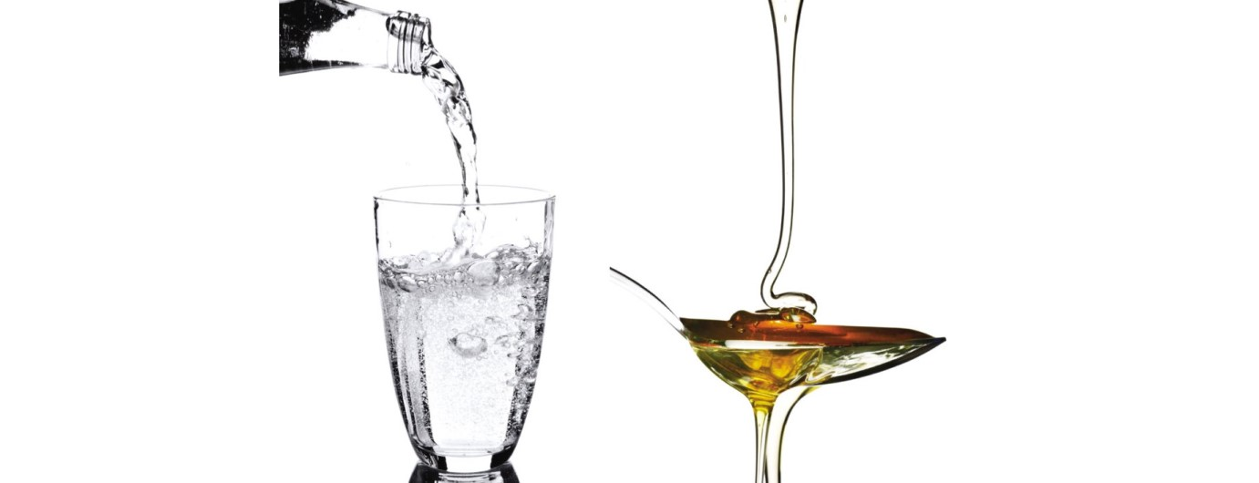 Viscosity like Water and Honey