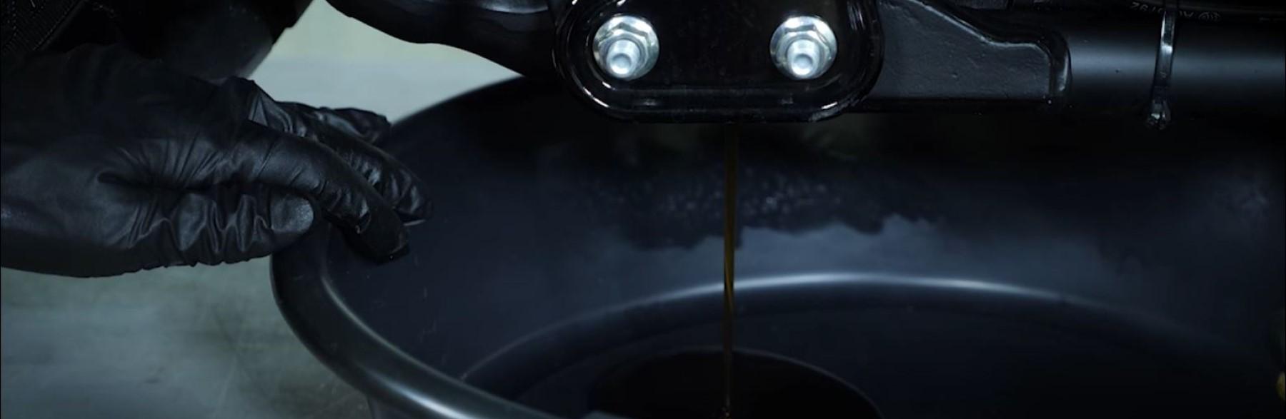 Harley Oil Change